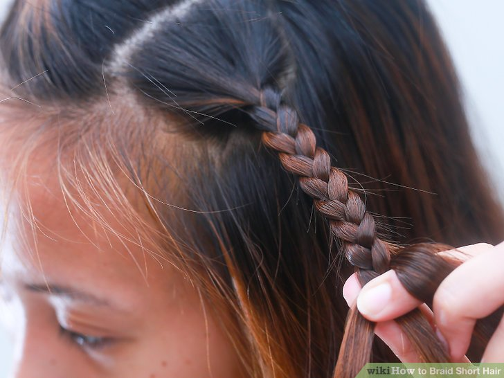 How to Braid Short Hair (with Pictures)