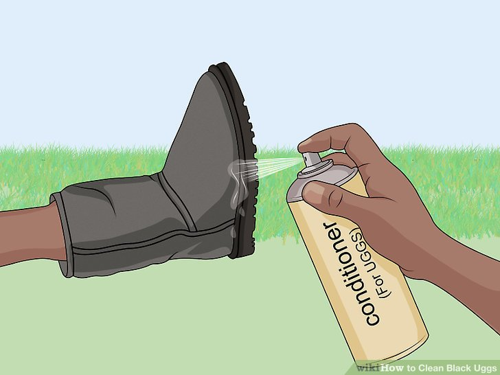 Use a protectant spray to keep your boots clean.