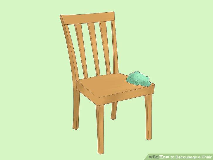 Reinigen Sie zuerst den Stuhl.