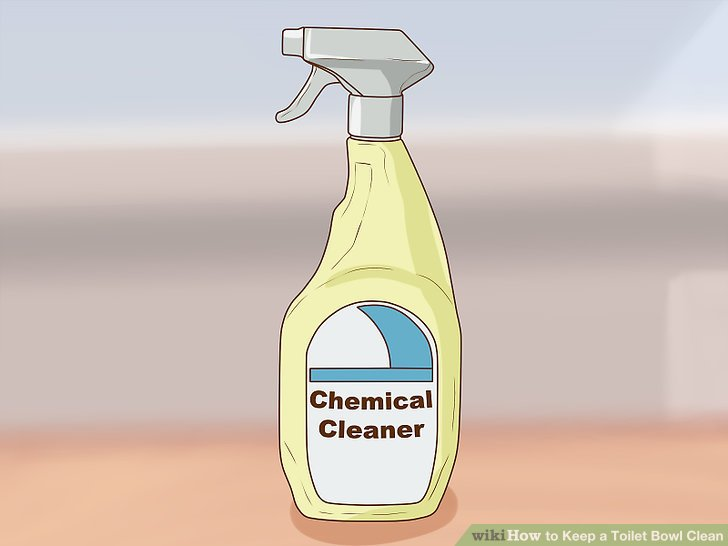 Use a multi-surface chemical cleaner.