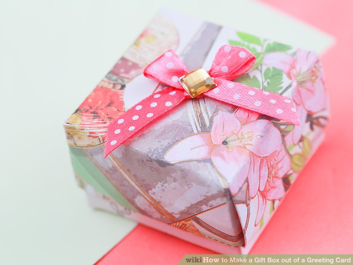 Add some tissue paper or cotton balls as padding for small gifts or jewelry.