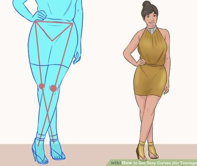 Image Titled Get Sexy Curves For Teenage Girls Step
