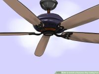 How to Install a Hampton Bay Ceiling Fan (with Pictures ...