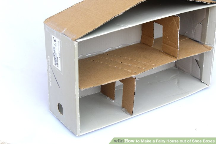 Use extra cardboard to make extra walls, if desired.