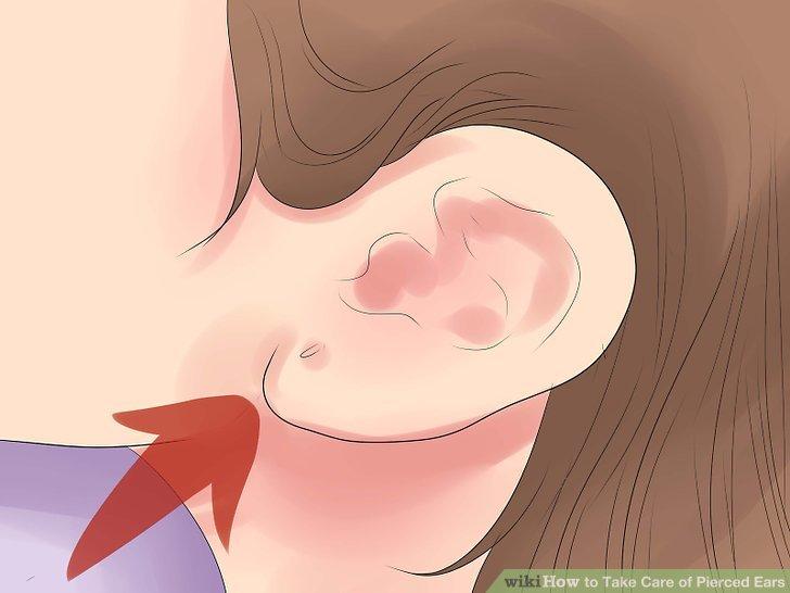 Stellen Sie fest, ob Ihr Piercing infiziert ist.
