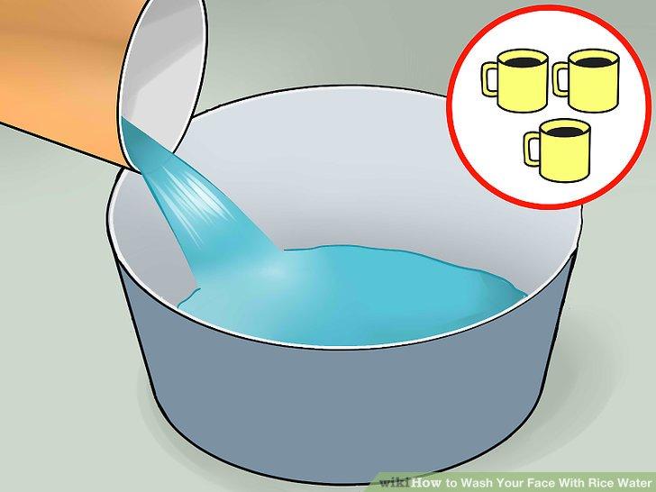 3 Tassen (710 ml) Wasser hinzufügen.