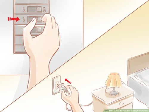 small resolution of how to find the fuse box or circuit breaker box 12 steps common home fuse box