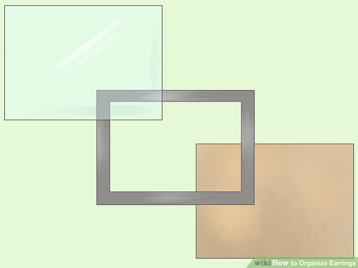 Take apart a picture frame.