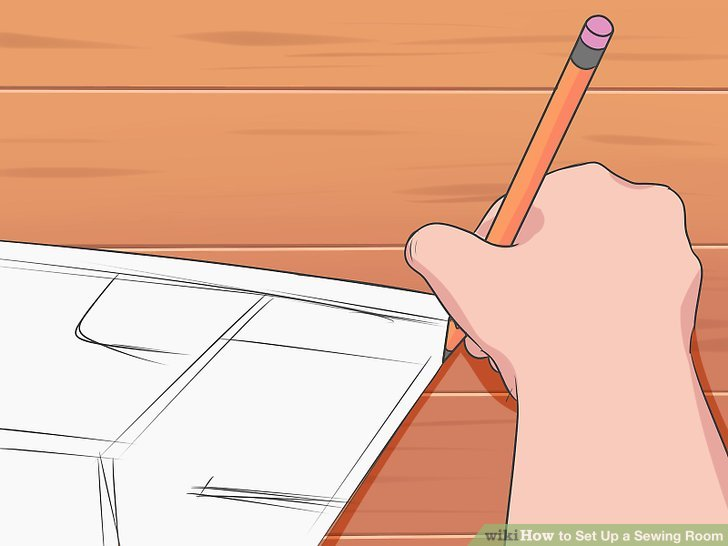 Draw the floor plan of the room or area.