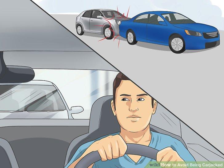 Wissen Sie, wie Sie reagieren sollen, wenn Ihr Auto von hinten angestoßen wird.