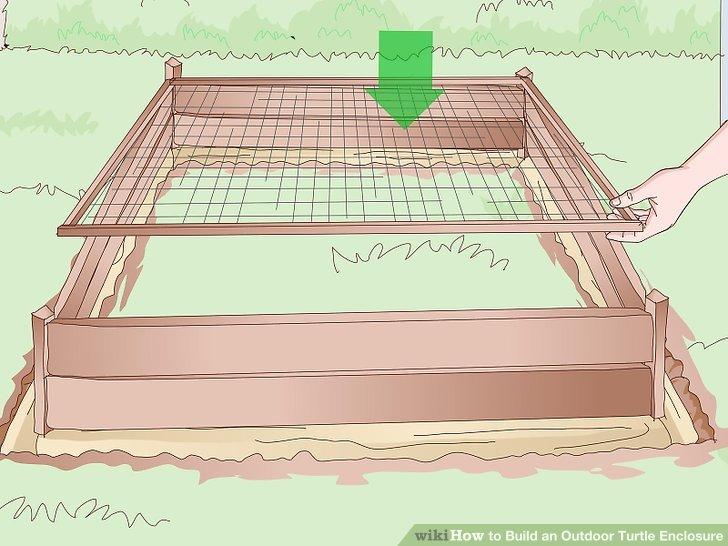 Verwenden Sie zum Abdecken des Gehäuses ein Drahtgeflecht.
