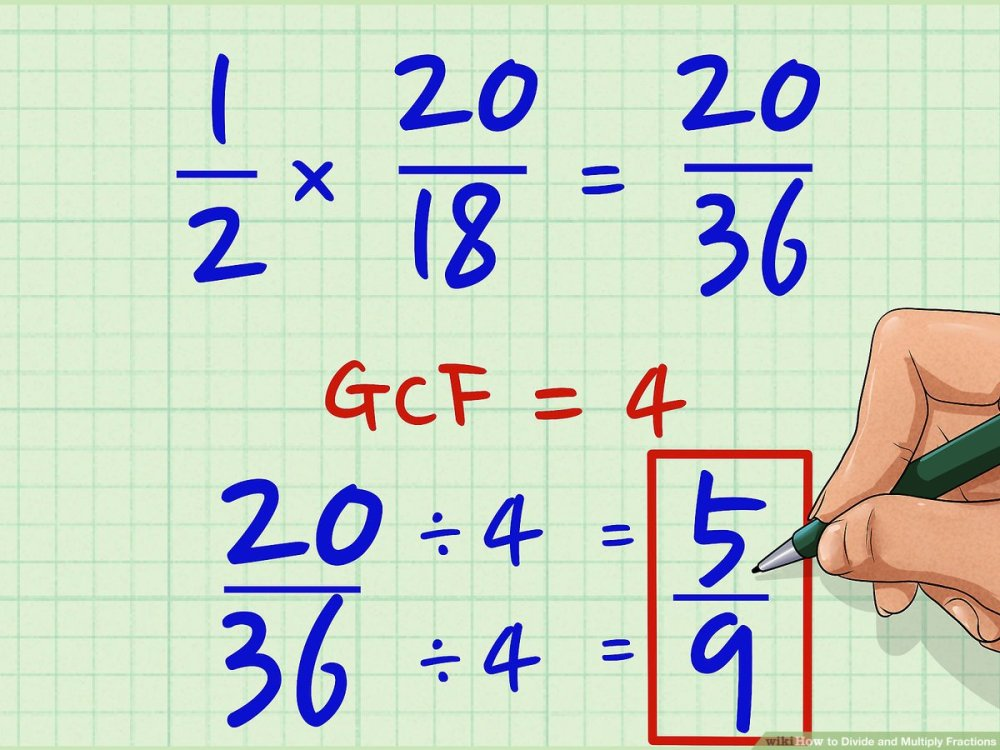 medium resolution of How to Divide and Multiply Fractions: 5 Steps (with Pictures)