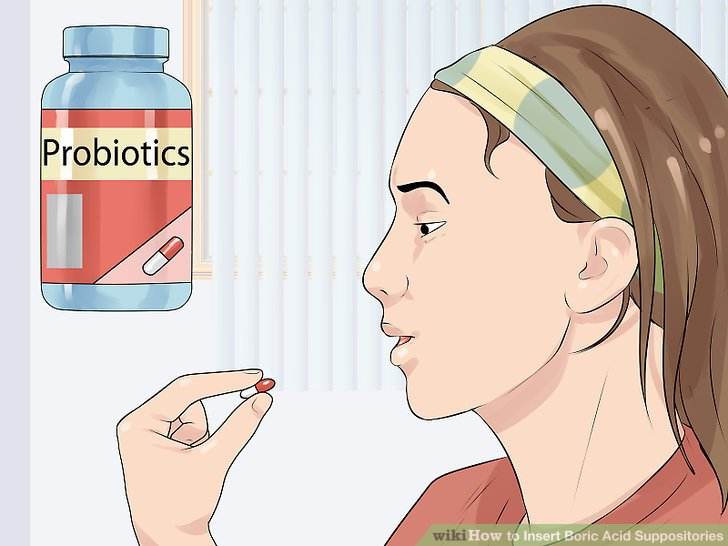 Take a probiotic during your treatment.