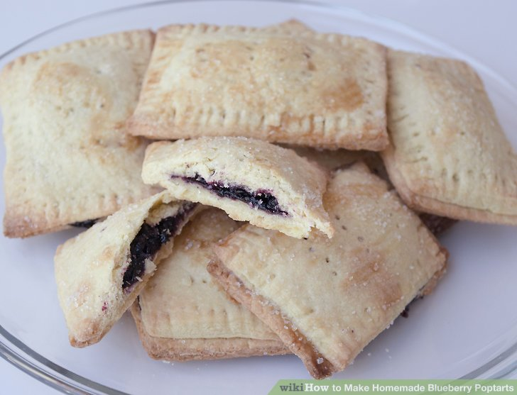Make Homemade Blueberry Poptarts
