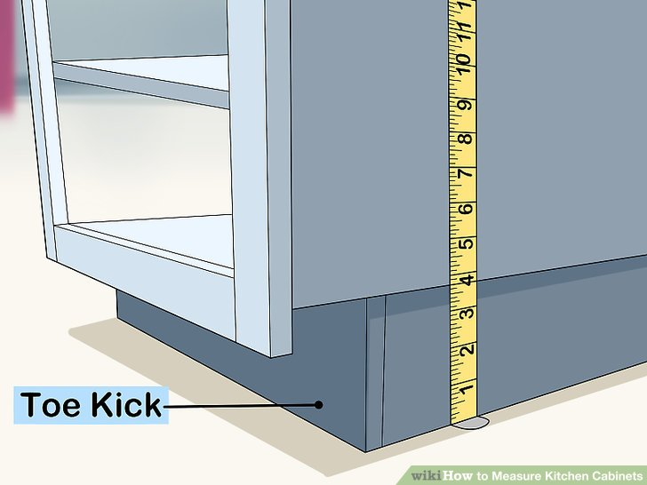 How to Measure Kitchen Cabinets 11 Steps with Pictures