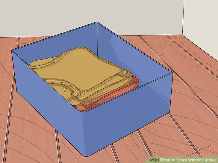 Legen Sie Ihre nicht empfindlichen Gegenstände in Plastikbehälter.