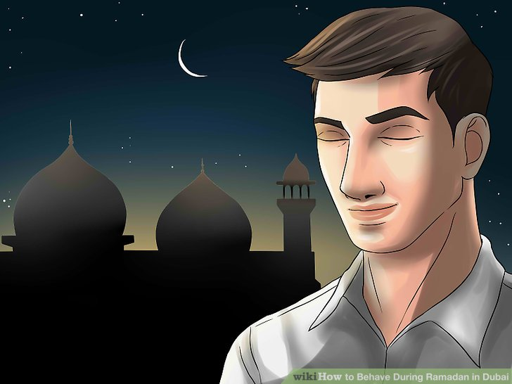 Respektieren Sie den Ramadan.