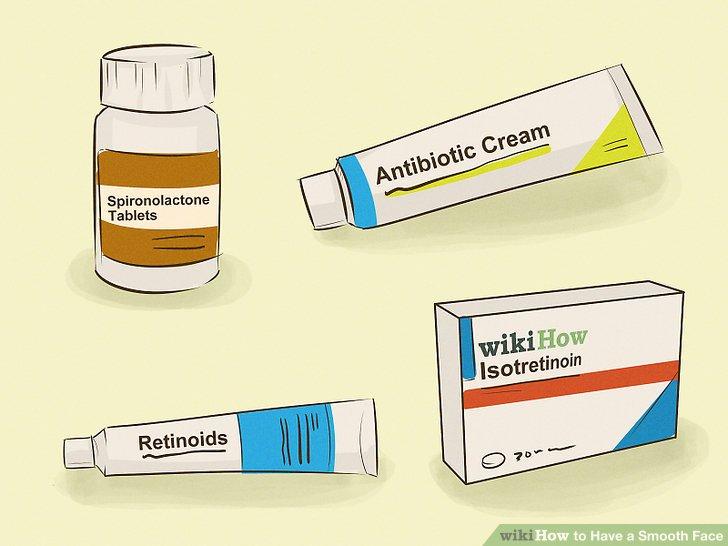 Fragen Sie nach verschreibungspflichtigen Behandlungen für Akne.