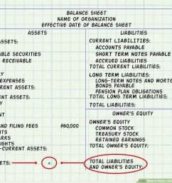 How to Make a Balance Sheet for Accounting: 13 Steps [ 900 x 1200 Pixel ]