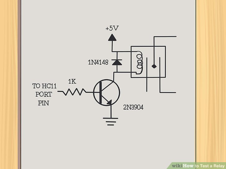 11 Pin Latching Relay Wiring Diagram 3 Ways To Test A Relay Wikihow