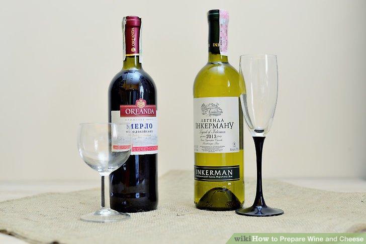 Wein in geeigneten Gläsern servieren.