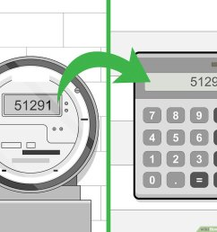 how to read an electric meter 7 steps with pictures wikihow ohio electric meter diagrams [ 1200 x 900 Pixel ]