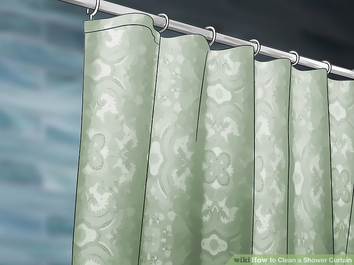 3 Ways To Clean A Shower Curtain WikiHow