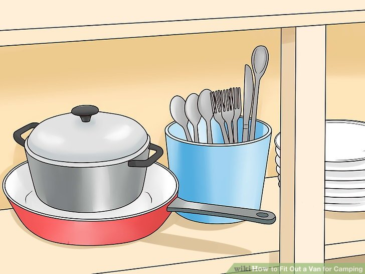 Stock your kitchen with cookware and cutlery.