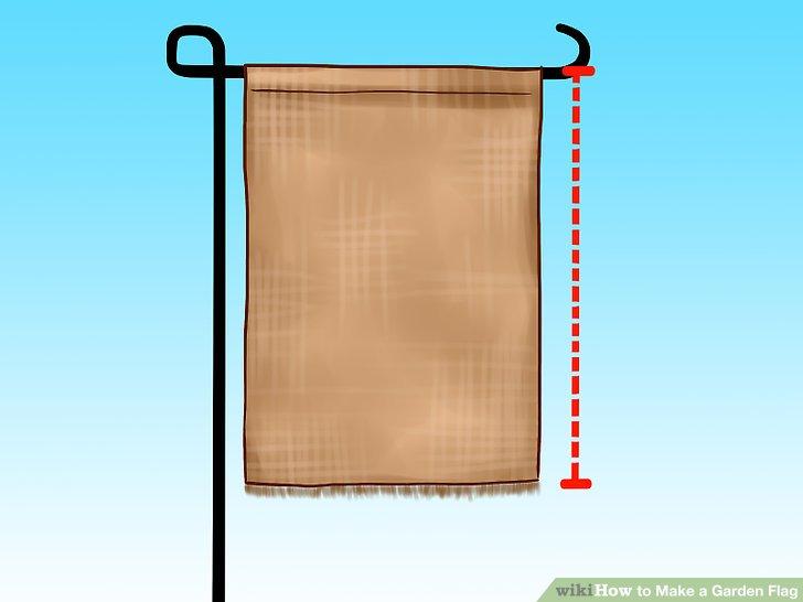 Legen Sie fest, welche vertikale Länge Ihre Flagge haben soll.