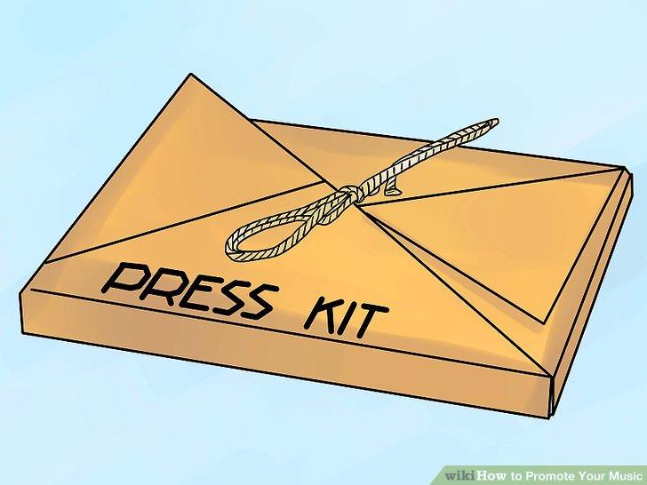Erstellen Sie ein Killer Press Kit.