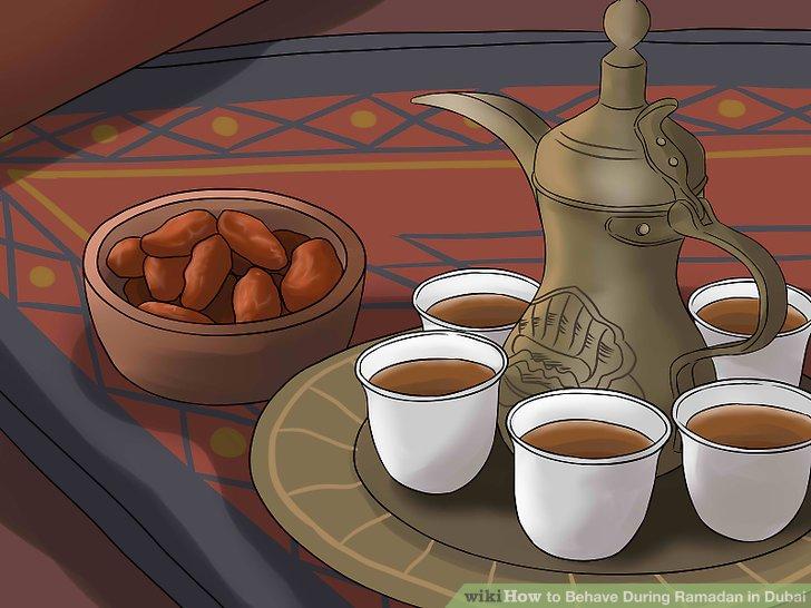 Denken Sie an die einzigartige Art und Weise, wie Dubai den Ramadan feiert.