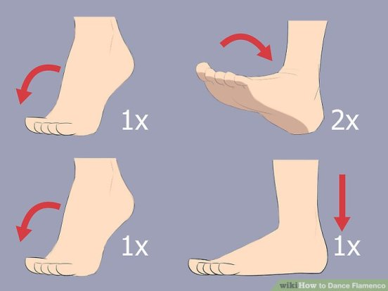 Flamenco Steps