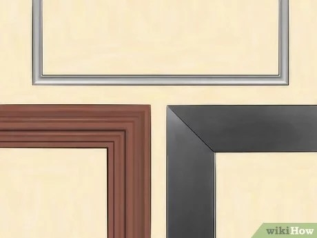 how to frame a poster with pictures