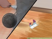 How to Remove Adhesive on Hardwood Floor (with Pictures ...