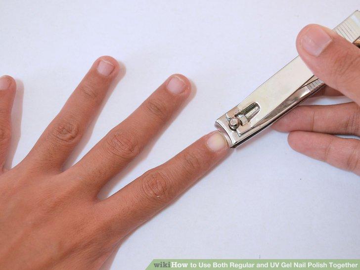 Image Led Use Both Regular And Uv Gel Nail Polish Together Step 1