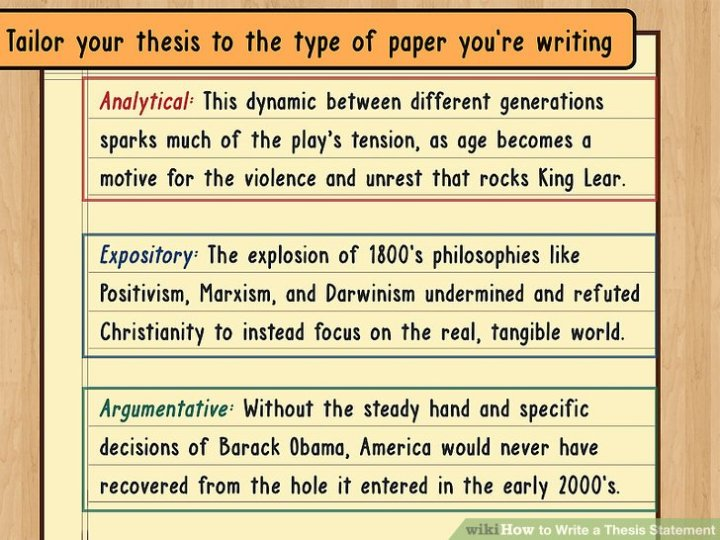 steps to writing a great thesis statement Steps in writing a research paper thesis characteristics whenever you are writing to explain something to your reader or to persuade your reader to agree with your opinion that sentence is often called the thesis, or thesis statement.