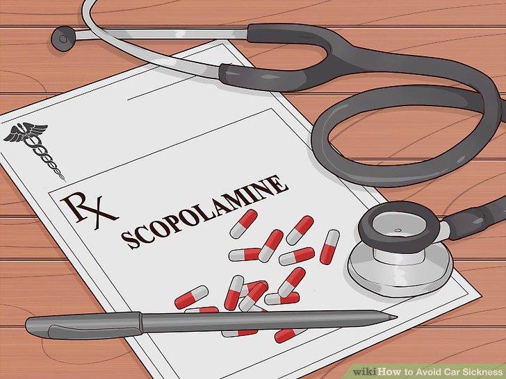 Fragen Sie Ihren Arzt nach einem Scopolamin-Rezept.