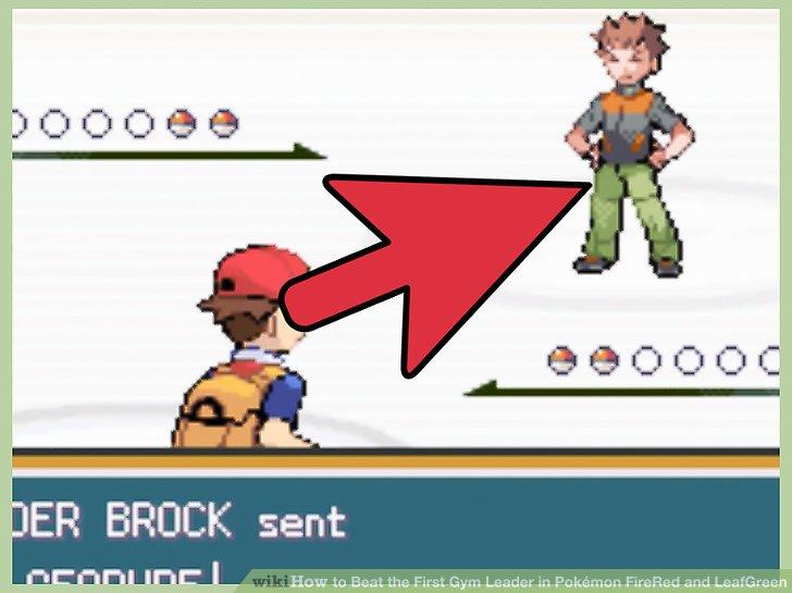Speichern Sie das Spiel, bevor Sie Brock herausfordern.