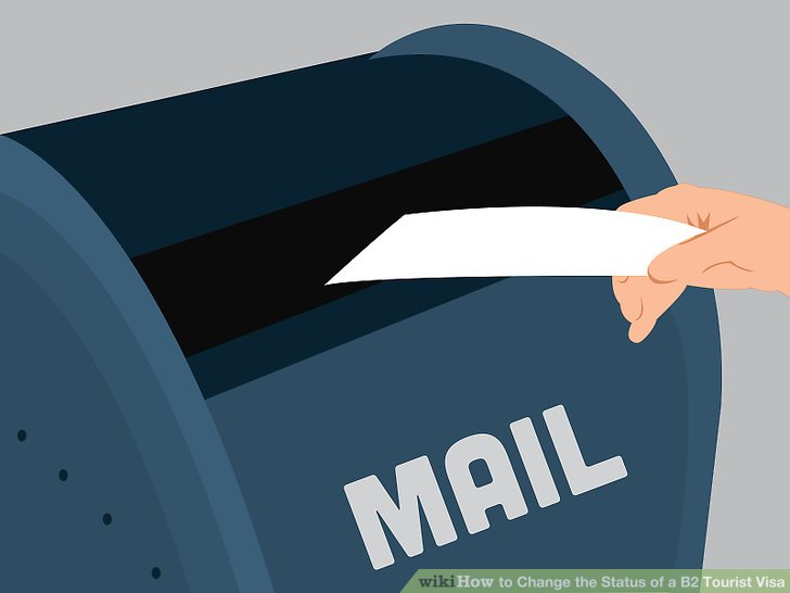 Mailen Sie Ihre Bewerbung an die entsprechende Adresse.