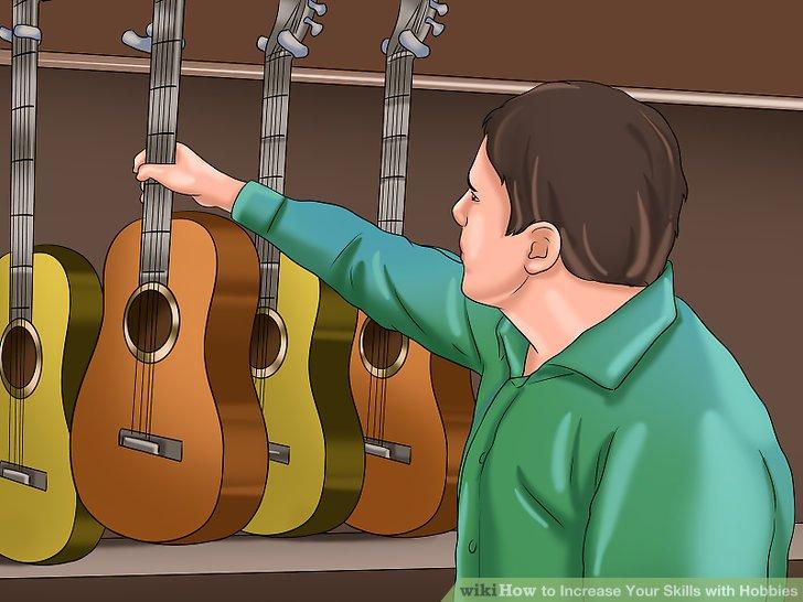 Sparen Sie Geld, kaufen Sie eine Gitarre und haben Sie kostenlose Lektionen bei YouTube oder anderen Online-Websites, die Ihnen helfen können.