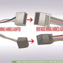 1999 Jeep Grand Cherokee Infinity Stereo Wiring Diagram 2001 Ford Explorer Exhaust System How To Install An Aftermarket Radio Into A 1996 1998 Image Titled Step 10
