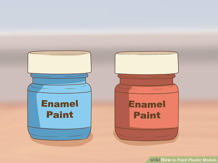 Get to know enamel paint.
