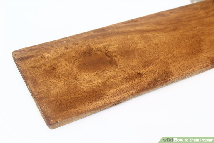 How To Stain Poplar To Look Like Cherry
