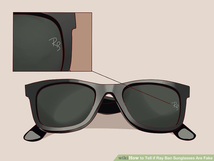 a4e2f24a4e 3 Ways To Tell If Ray Ban Sunglasses Are Fake Wikihow