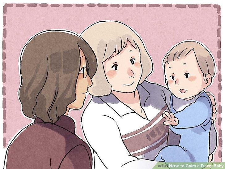 Geben Sie dem Baby weniger Anregung, wenn es überfordert ist.