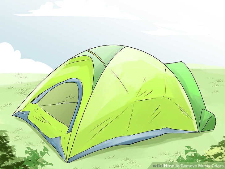 Zelte auslüften.