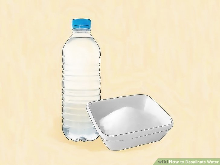 Use bottled drinking water and iodized salt.