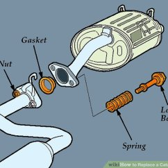 2004 Kia Sorento Exhaust System Diagram Ford Sierra Wiper Wiring How To Replace A Catalytic Converter With Pictures Wikihow Image Titled Step 8