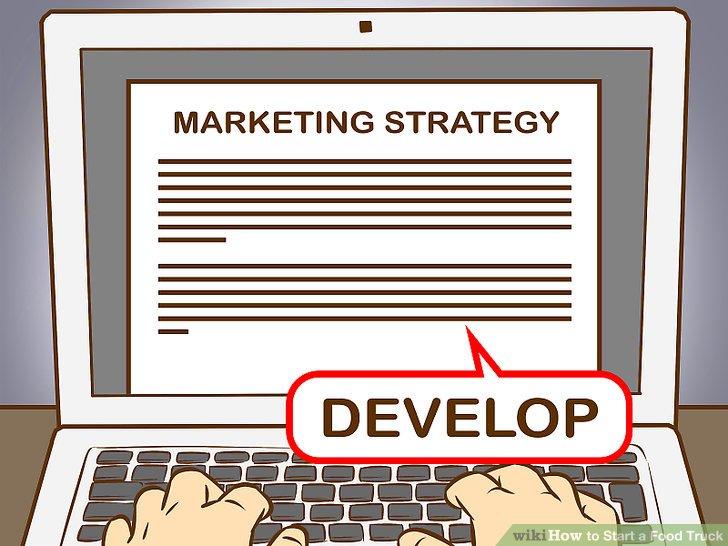 Entwickeln Sie Ihre Marketingstrategie.