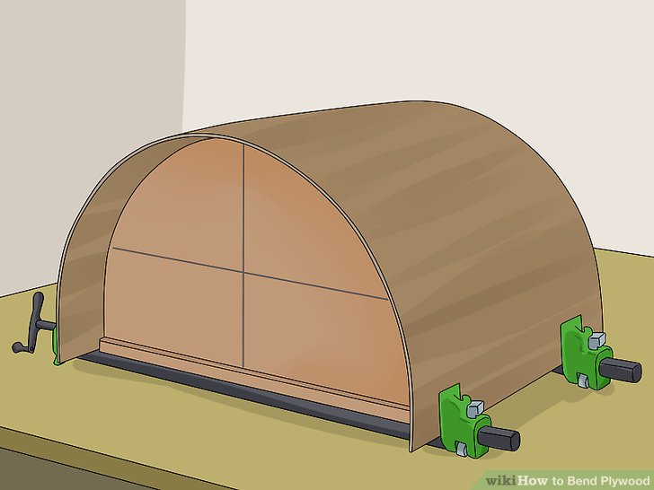 How To Bend Plywood 90 Degrees